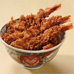 TENDON(with rice in bowl)